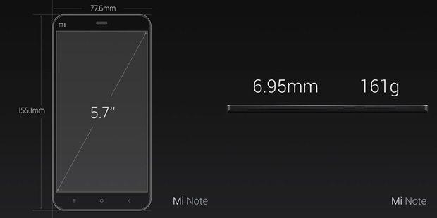 Mi-Note-Design-Size