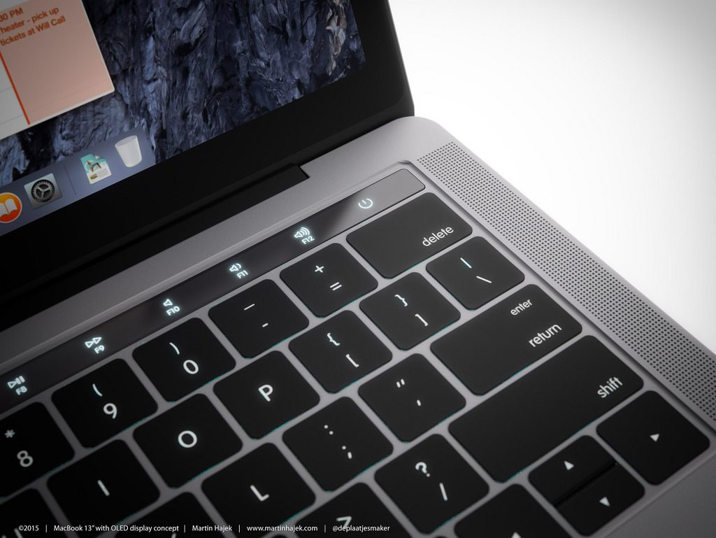 MacBook OLED display concept (image source: martinhajek.com)