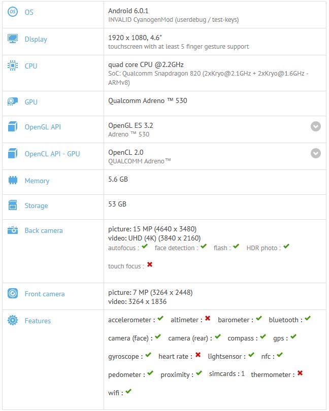 OnePlus 3 Mini