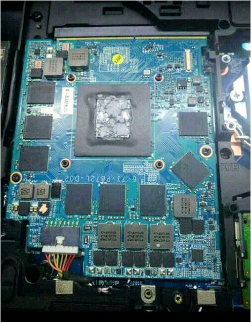 GTX 1070 PCB (Image source: Videocardz.com)