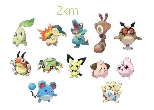 Pokémon Gen 2 2KM