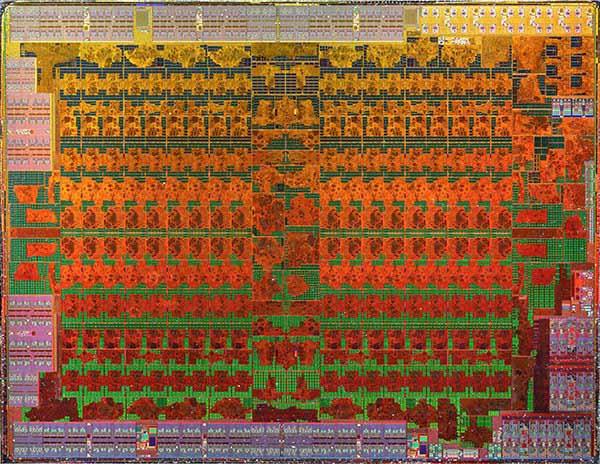 RX 480 GPU die shot audio processing unit