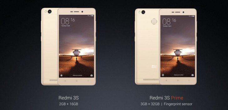 Redmi 3s Redmi 3s Prime