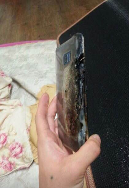 Samsung Galaxy Note 7 burnt (3)