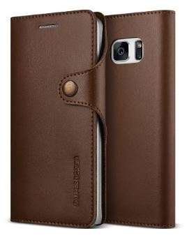 VRS Design Native Diary Coffee Brown Galaxy Note 7 case