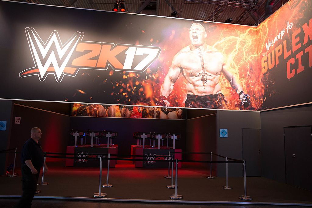 WWE 2K17 at Gamescom