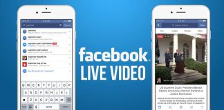 facebook live video for india