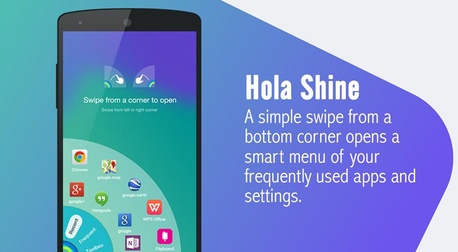 hola launcher android launchers