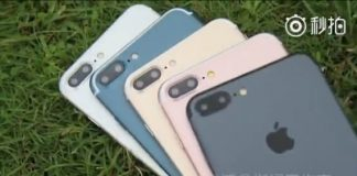 iPhone 7 Plus all colored models