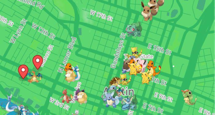 Maps for Pokémon GO