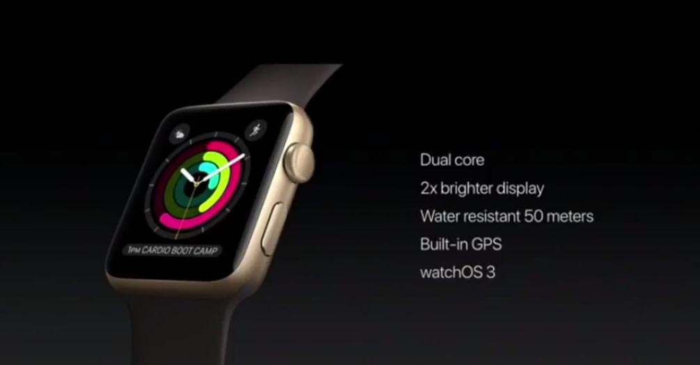 Apple Watch Series 2 vs Apple Watch specs features differences