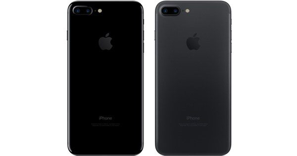 apple iphone 7 black vs jet black