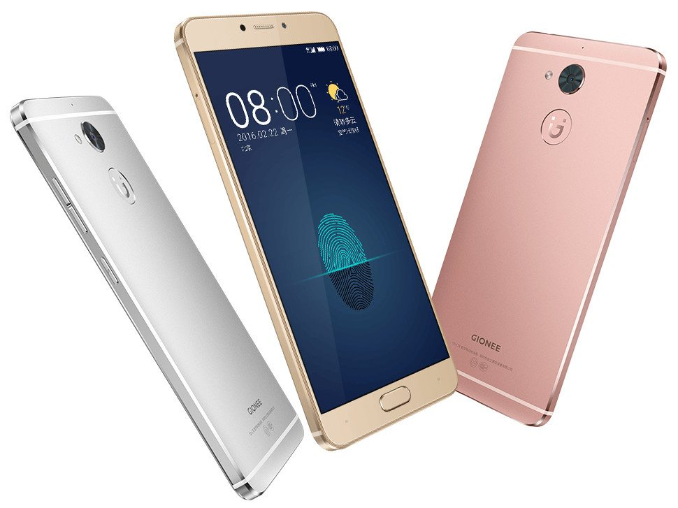 Gionee S6 Pro With 5.5 Display, 4GB RAM Launched In India