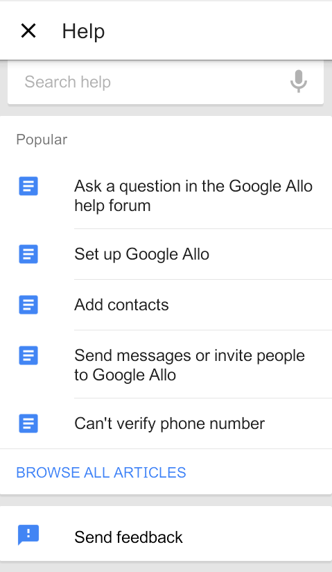How To Use Google Allo Messaging App
