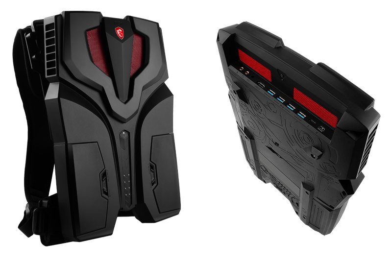 MSI VR One Is a Backpack That Houses a GPU and an Overclocked Processor