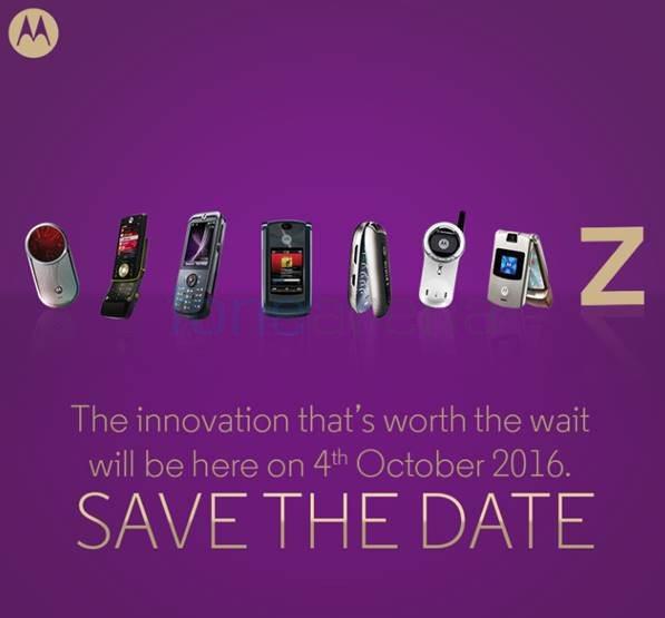 Motorola Moto Z Invite