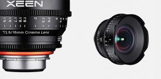 New Samyang 16mm T2.6 XEEN E-mount Cine Lens Announced
