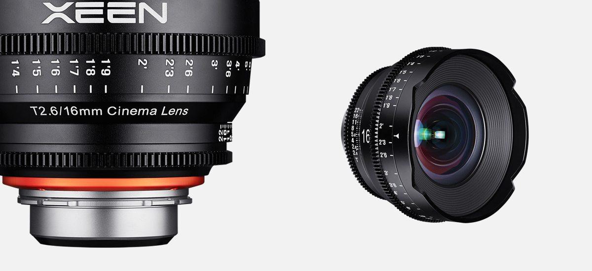New Samyang 16mm T2.6 XEEN E-mount Cine Lens Announced