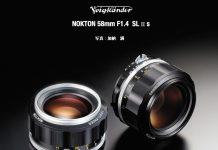 New Voigtlander Nokton 58mm f1.4 SL II S Lens For Nikon F-mount Announced