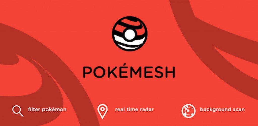 PokeMesh: The Real-Time Pokémon Map [APK Download] Gets a New Update