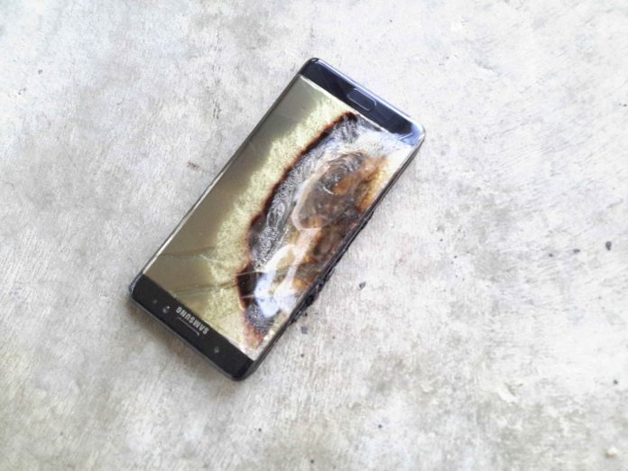 Galaxy Note 7 explosion cause
