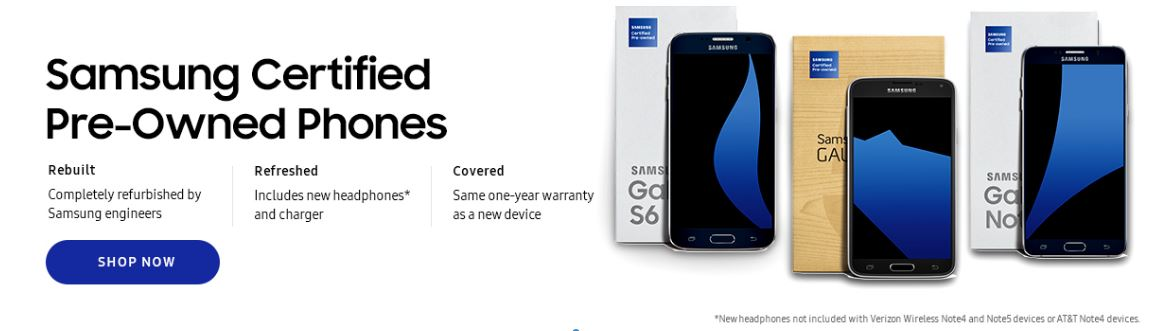 Samsung refurbished phones