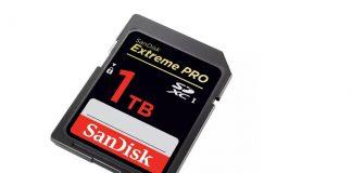 SanDisk 1TB Extreme PRO SDXC Announced