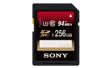 Sony 256GB Class 10 SD Card