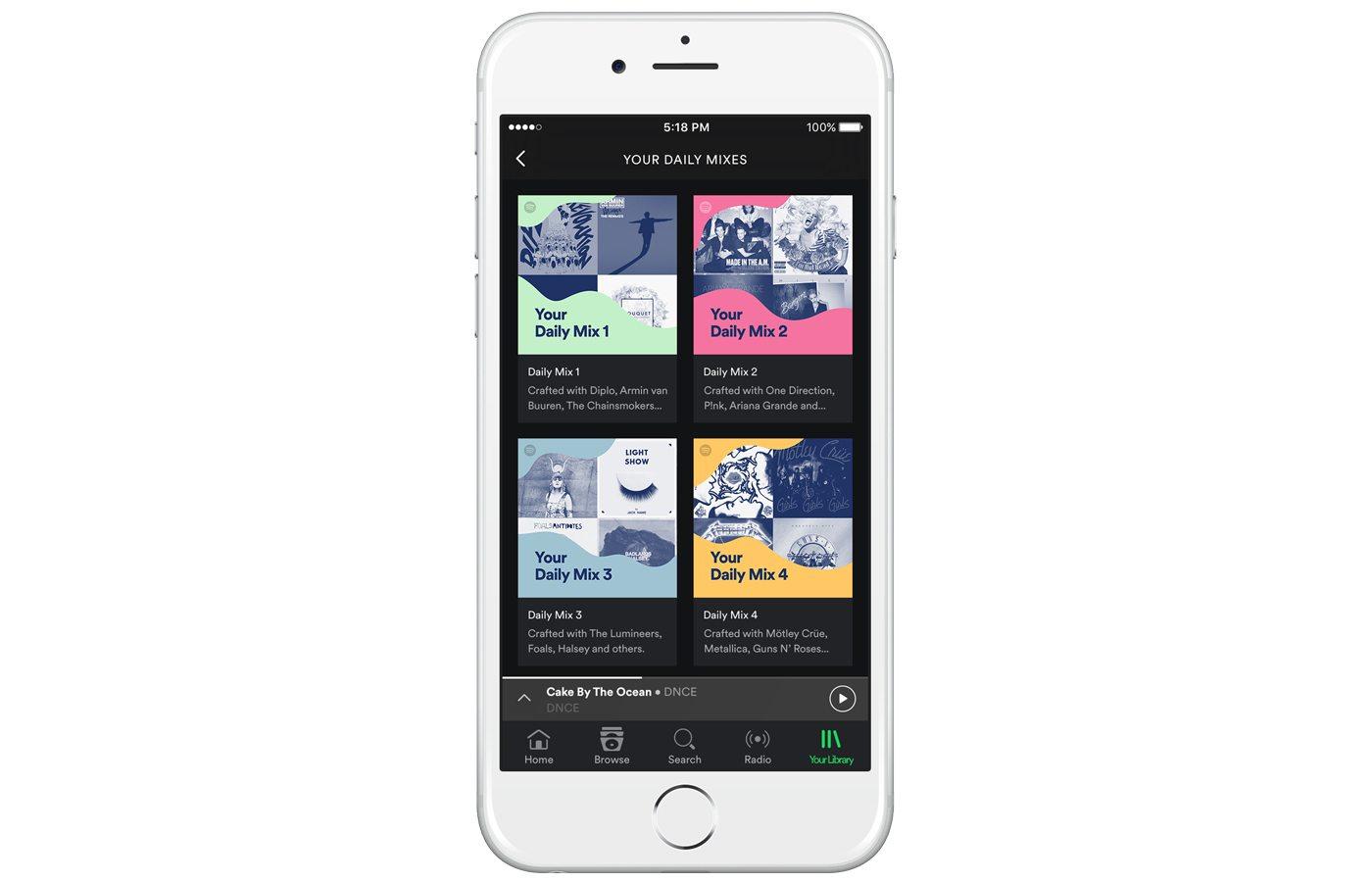 Spotify Daily Mix