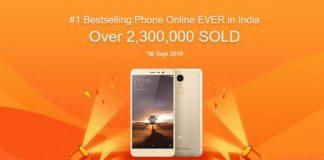 Xiaomi Redmi Note 3 2.3 Million Units