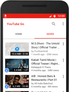 YouTube GO App For Offline Viewing And Sharing Announced