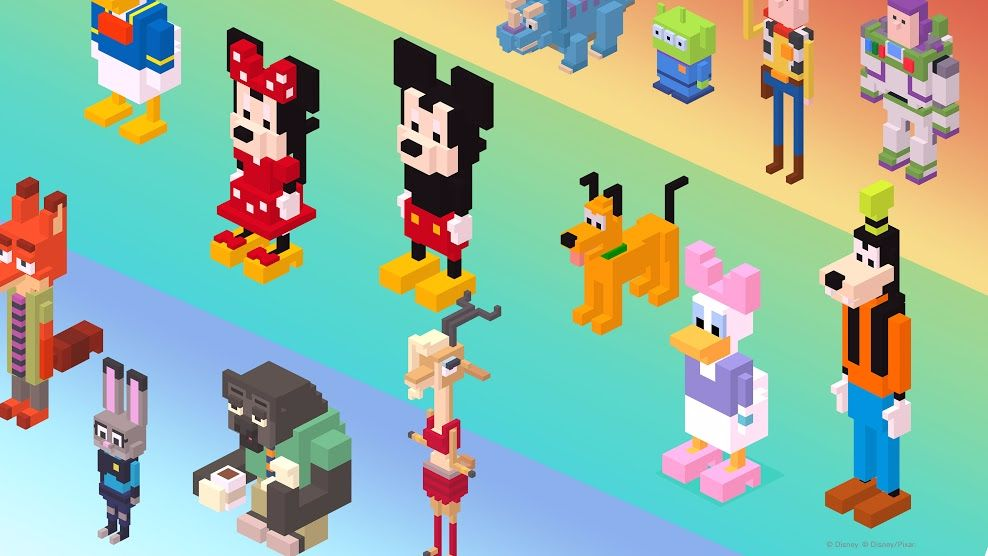 disney crossy road guide