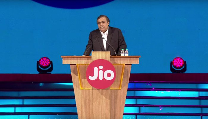 reliance jio ambani speech