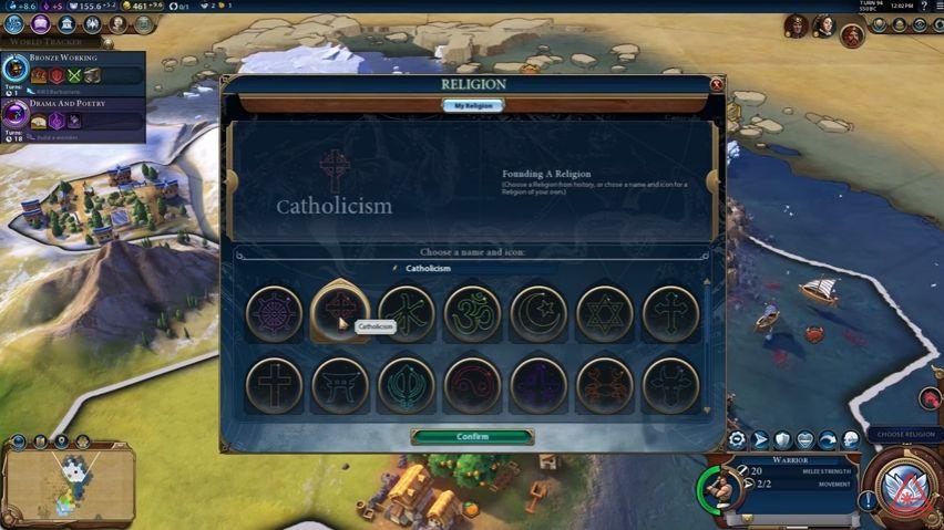 civilization vi features