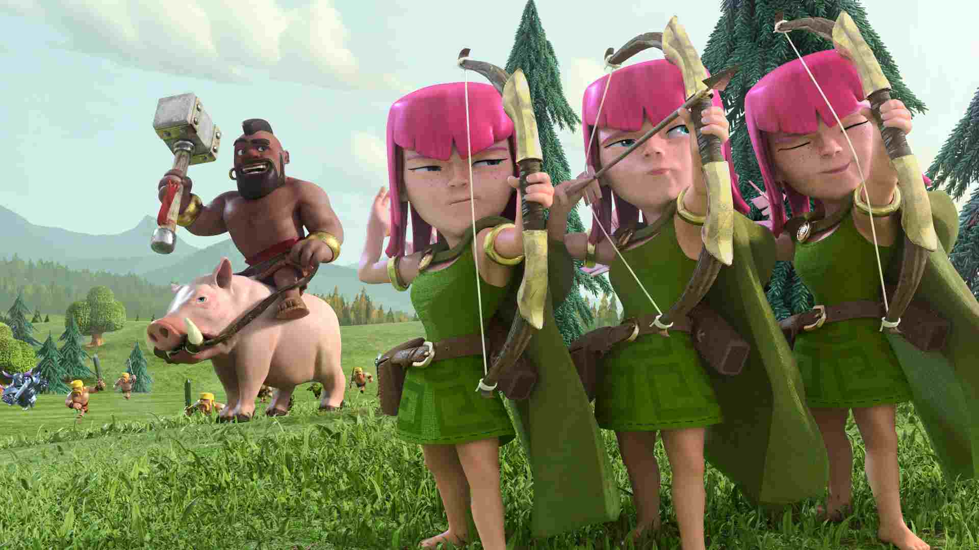 Clash of clans movie release date