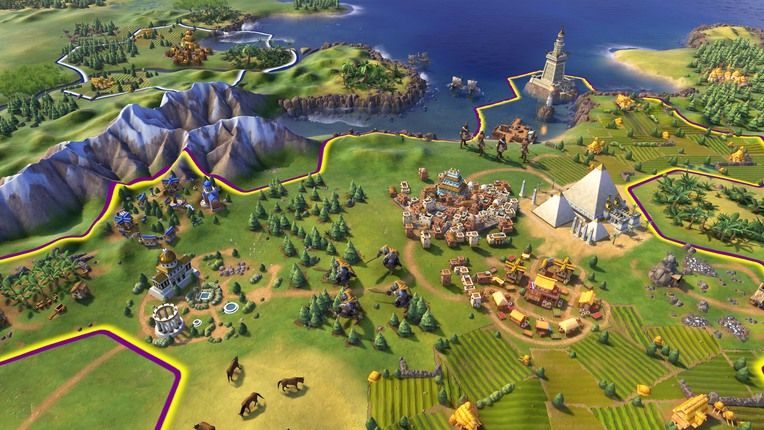 civilization vi features