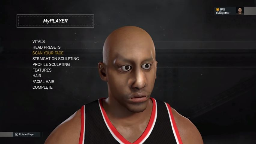nba 2k17 face scan tutorial