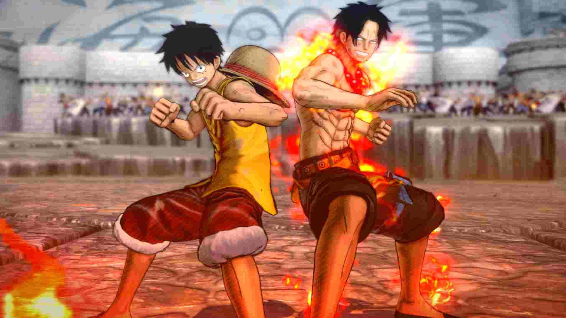 one piece burning blood impressions