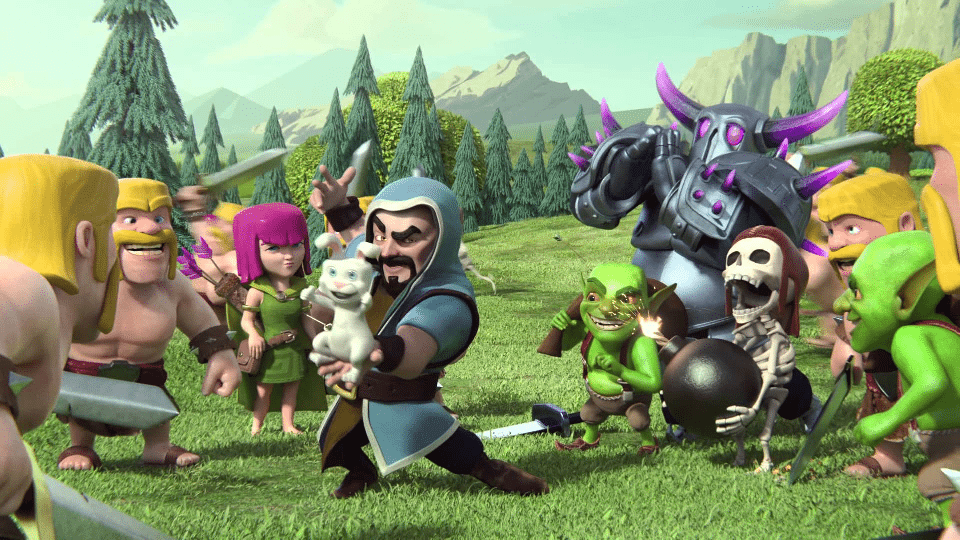 clash of clans ideas