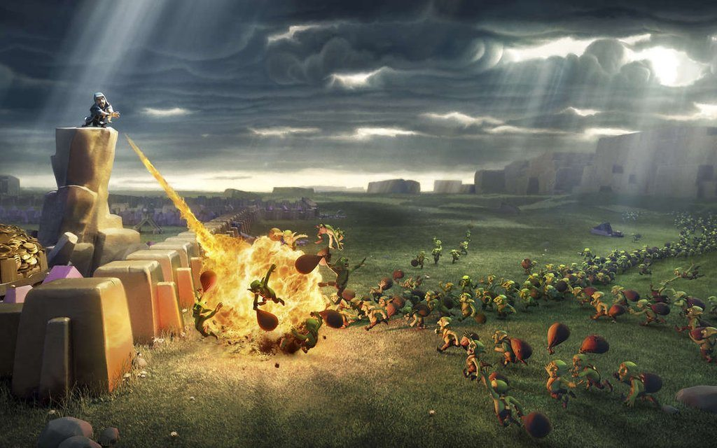 clash of clans ideas
