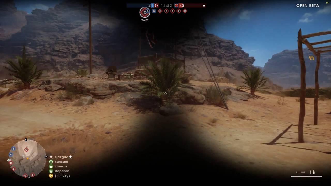 battlefield 1 beta sinai desert map guide