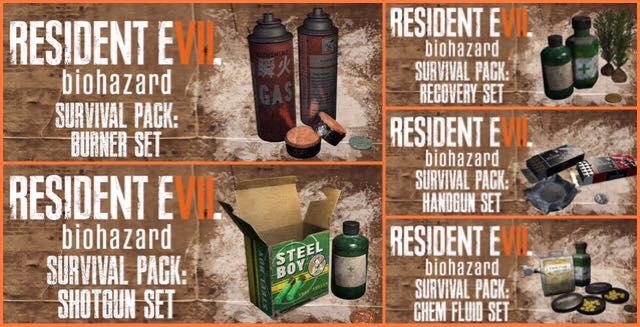 resident evil 7 pre-order bonus
