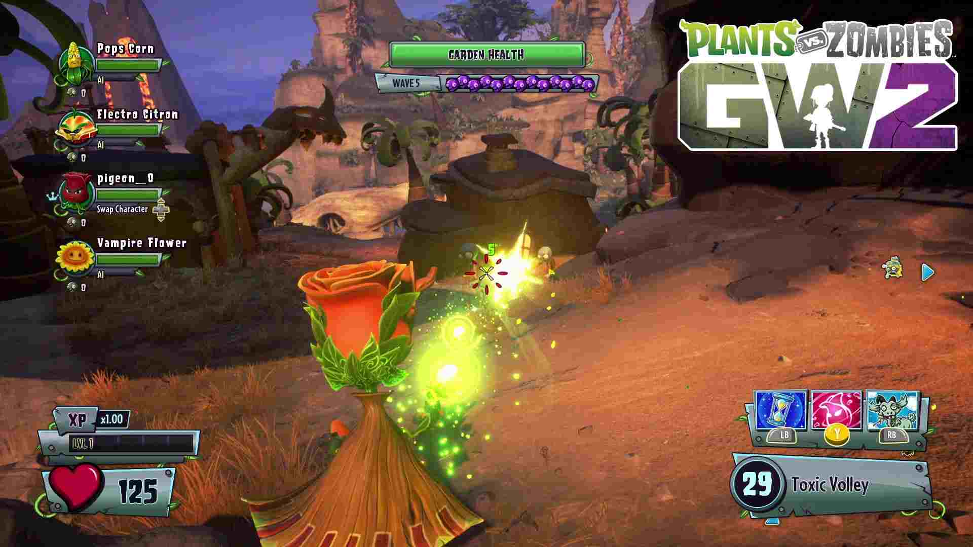 plants vs zombies garden warfare 2 new achievements