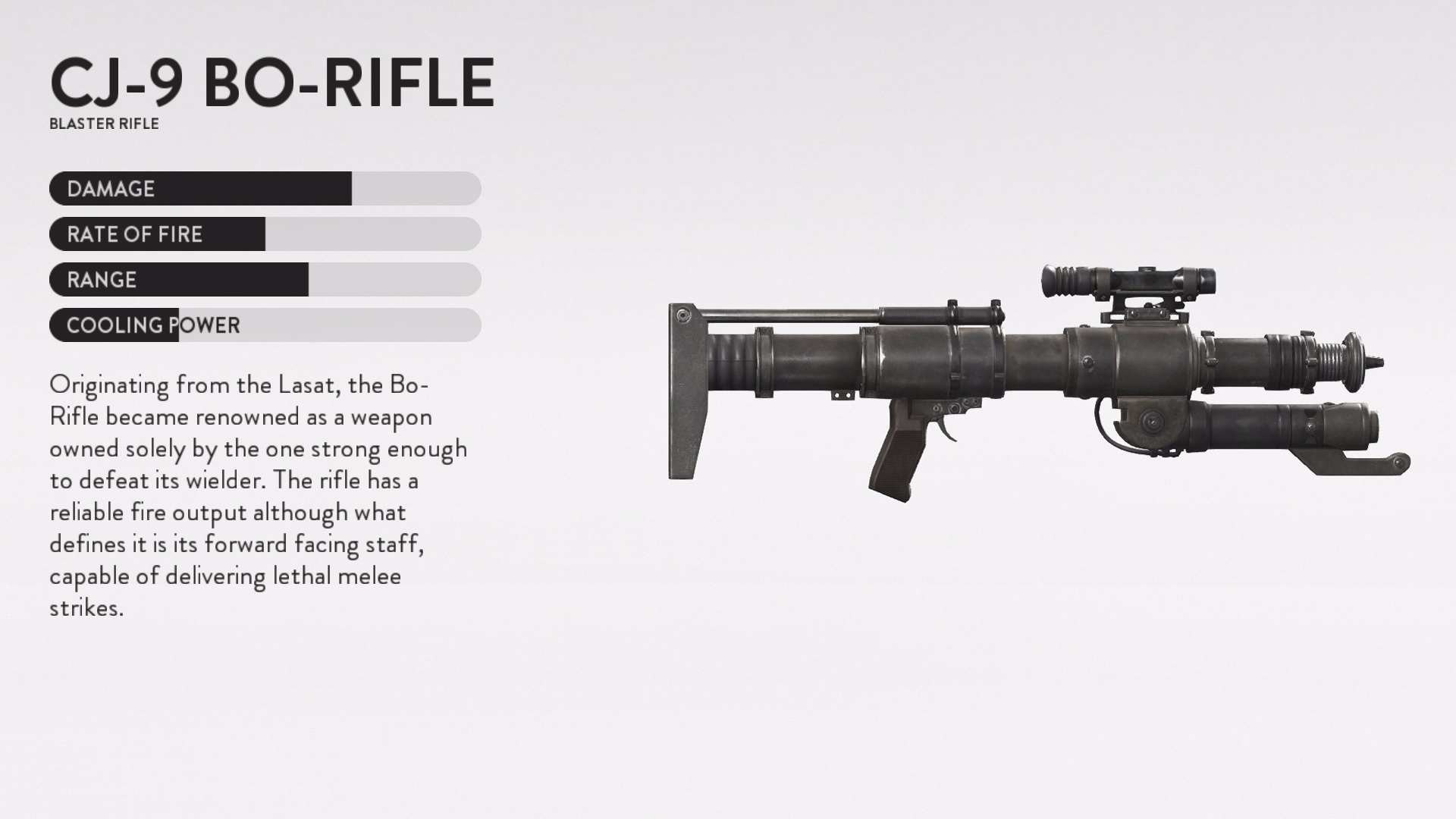star wars battlefront death star dlc bo-rifle weapon details