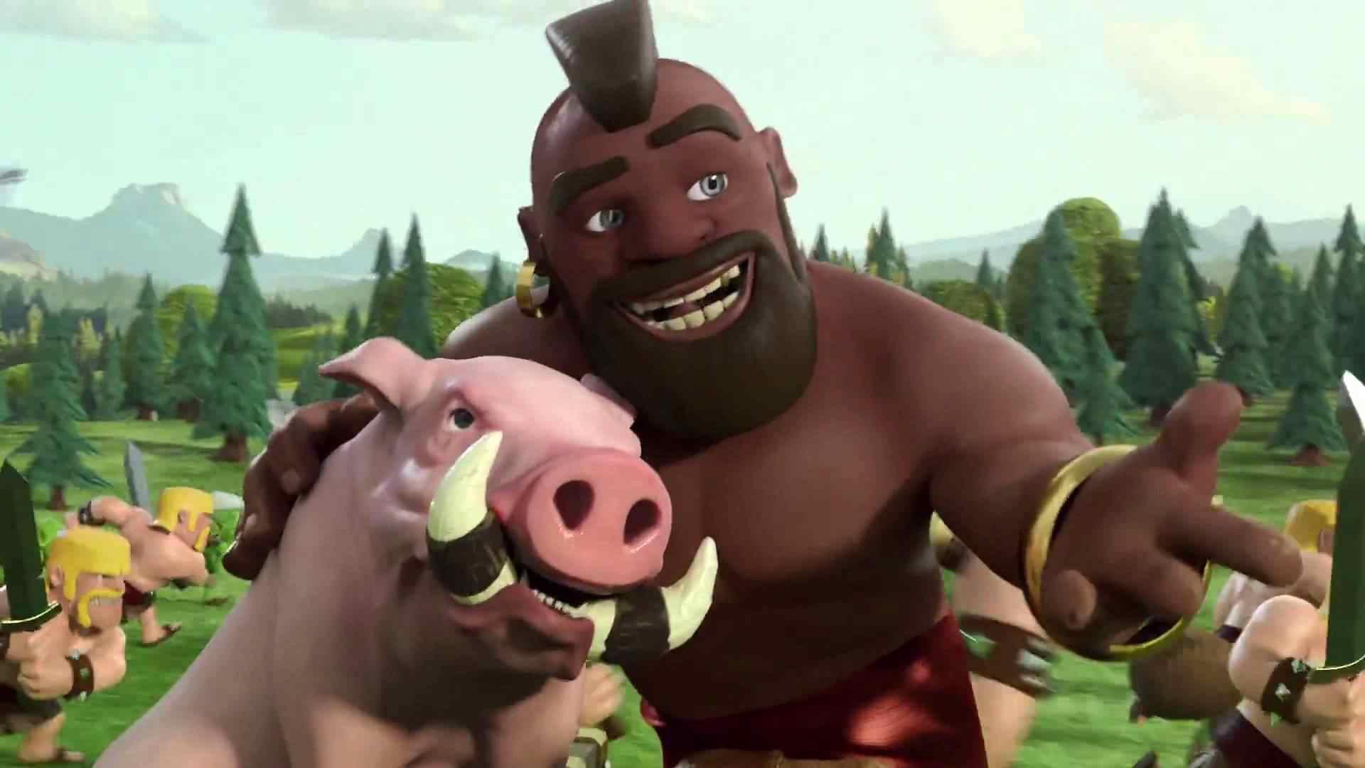 clash of clans hog rider tips