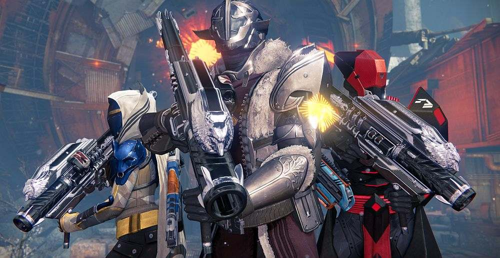 destiny rise of iron new exotics