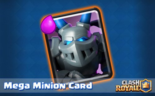 clash royale mega minion update