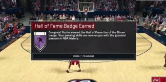 nba 2k17 hall of fame dimer badge tutorial