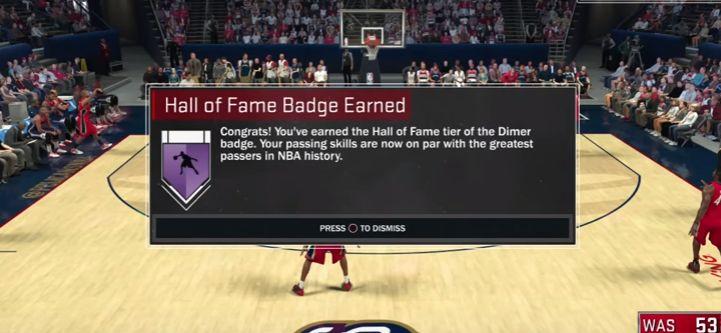 nba 2k17 hall of fame dimer badge tutorial