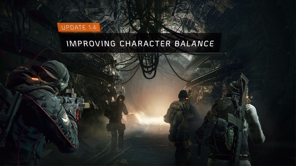 tom clancy's the division patch 1.4